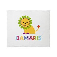 Damaris the Lion Throw Blanket