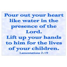 Cute Children bible Wall Art