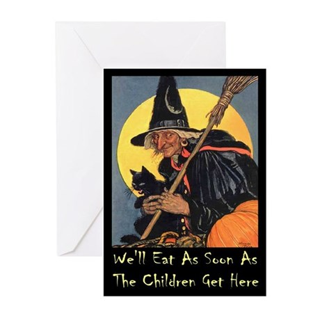 We'll Eat When the Kids Greeting Cards (Pk of 10)