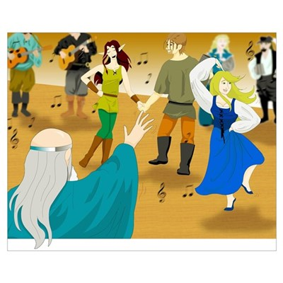 Dancing in the Tavern Poster