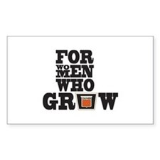 For Women Who Grow Decal