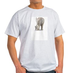 Mother and baby elephant T-Shirt