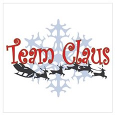 Team Claus Poster