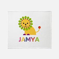 Jamya the Lion Throw Blanket