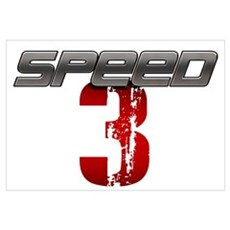 SPEED 3 Canvas Art
