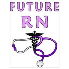 Nurse Future RN Framed Print