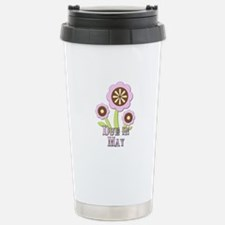 Due in May Expectant Mother Travel Mug