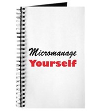 Micromanage Yourself Journal