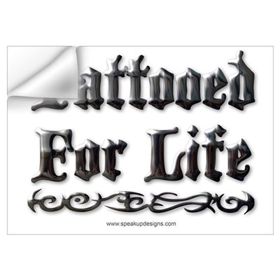 Tattooed For Life Wall Decal
