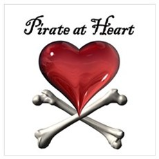 Pirate at Heart Poster