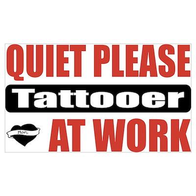 Tattooer Work Poster
