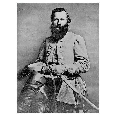 Gen JEB Stuart, CSA Poster