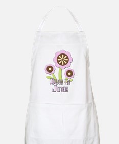 Due in June Expectant Mother Apron