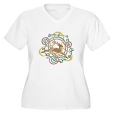 Celtic Reindeer Knots T-Shirt