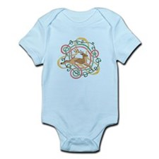 Celtic Reindeer Knots Infant Bodysuit