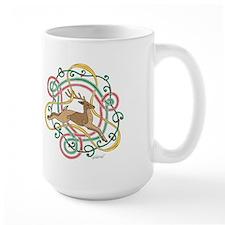 Celtic Reindeer Knots Mug