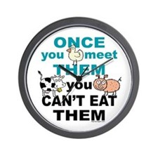 Animal Compassion Wall Clock