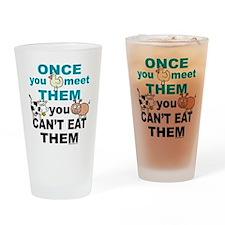 Animal Compassion Drinking Glass
