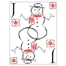 Snowman - Jack of Gifts Poster