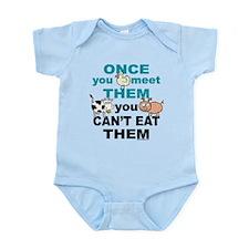 Animal Compassion Infant Bodysuit