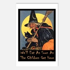 We'll Eat When the Kids Postcards (Package of 8)