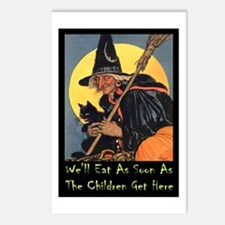 We'll Eat When the Kids G Postcards (Package of 8)