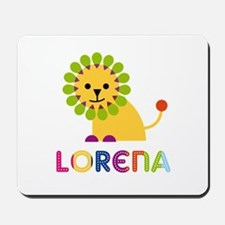 Lorena the Lion Mousepad