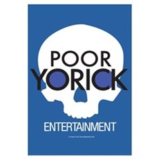 Poor Yorick Entertainment Canvas Art