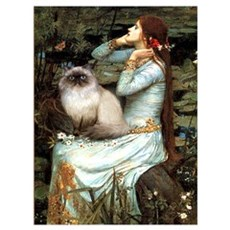 Ophelia & Himalayan Canvas Art