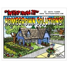 """Homegrown Solutions"" Canvas Art"