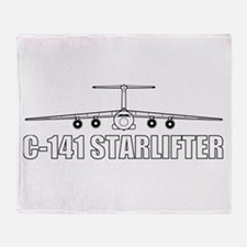 C-141 Throw Blanket