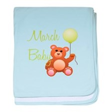 March Baby baby blanket
