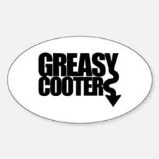 Greasy Cooter Oval Decal