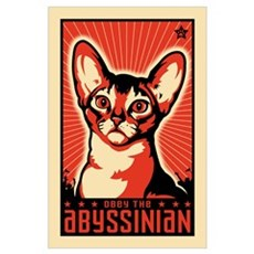 Obey the Abyssinian! Propaganda Poster