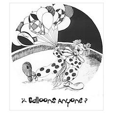 Balloons Anyone? Poster
