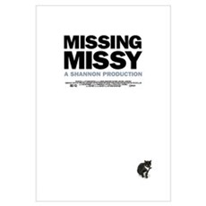 Missing Missy Large Movie Framed Print