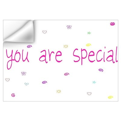 You Are Special Wall Decal