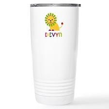 Devyn the Lion Ceramic Travel Mug