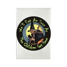 We'll Eat When the Kid Rectangle Magnet (100 pack)