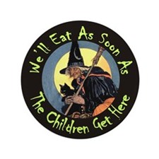 "We'll Eat When the Kids Get 3.5"" Button (100 pack)"