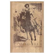 Pancho Villa Mexican Revolution Print Poster