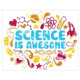 Science Wrapped Canvas Art