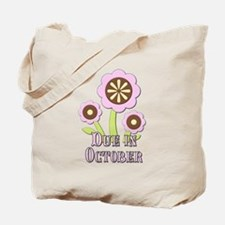 Due in October Expectant Mother Tote Bag