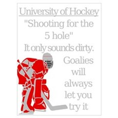 5 Hole Poster