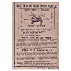 Nestle's Mother Goose Ad Poster