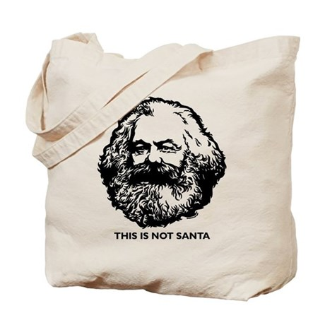Marx Not Santa Tote Bag