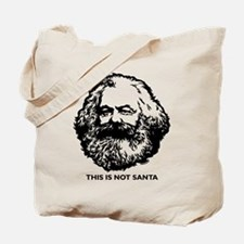 Marx Not Santa Tote Bag
