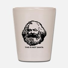 Marx Not Santa Shot Glass