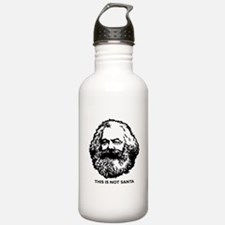 Marx Not Santa Water Bottle
