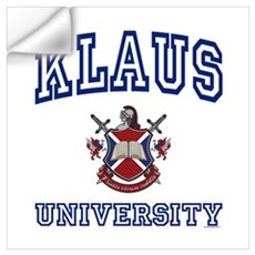 KLAUS University Wall Decal